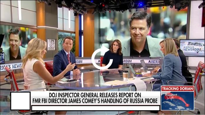 DOJ Inspector General Release Report on FMR FBI Director James Comey Handling of Fussia probe