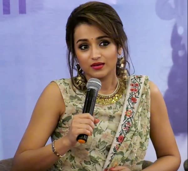 Indian actress Trisha Krishnan