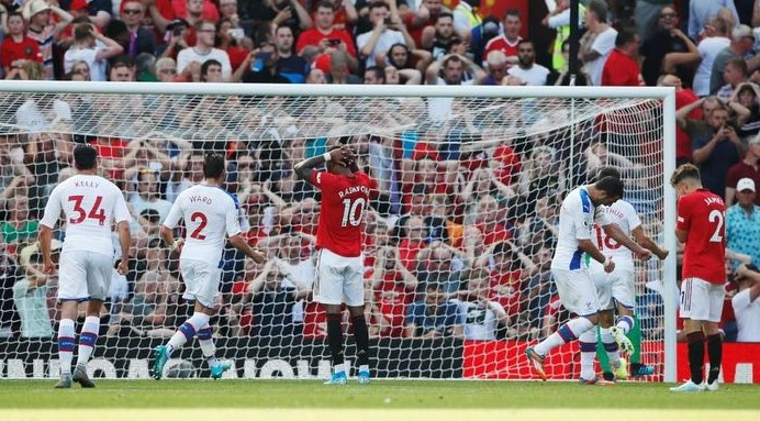 MU Vs Crystal Palace: The Red Devils humiliated 1-2