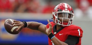 Ohio State QB Justin Fields Shines With Five Touchdowns in Buckeyes Debut