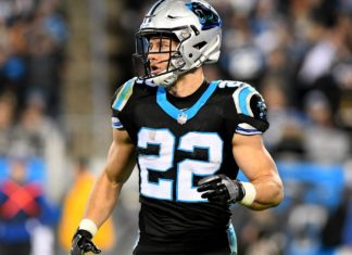 Panthers looking to monitor workload of Christian McCaffrey
