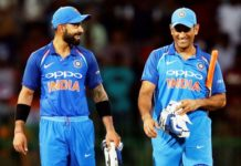 Virat Kohli equaled MS Dhoni Indian record as captain