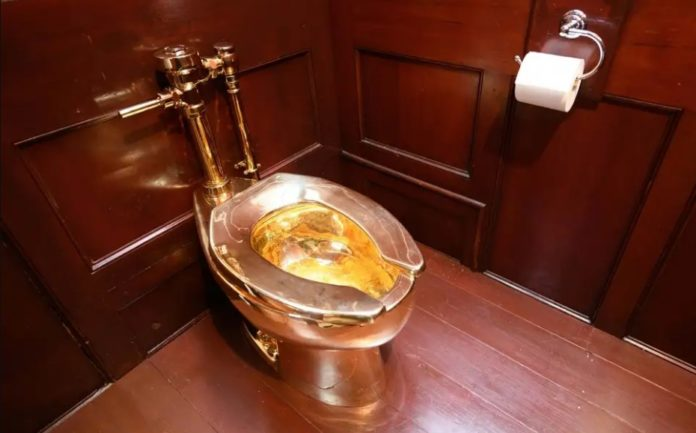 A gold toilet was stolen from British museum