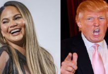 chrissy teigen and trump