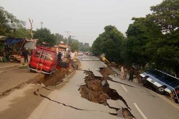 Earthquake devastates in Azad Kashmir