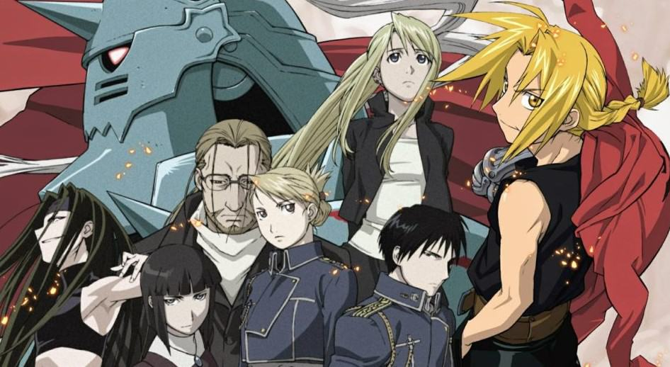 Fullmetal Alchemist-Brotherhood