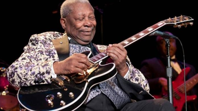 Google Doodle to BB King