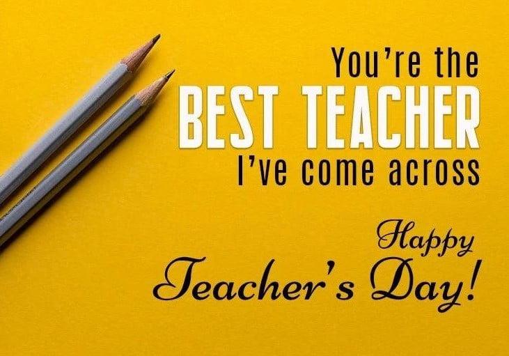 Happy Teachers Day 2019 image