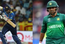 Pakistan VS Sri Lanka 2019 Series