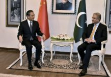 Pakistan and China discussed the Kashmir issue