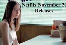 Netflix November 2019 New Releases