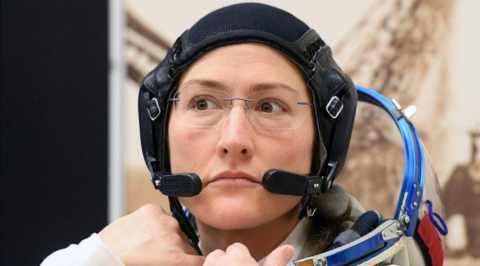 spacewalk with only Women astronauts