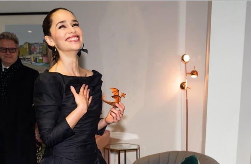 Emilia Clarke confessed
