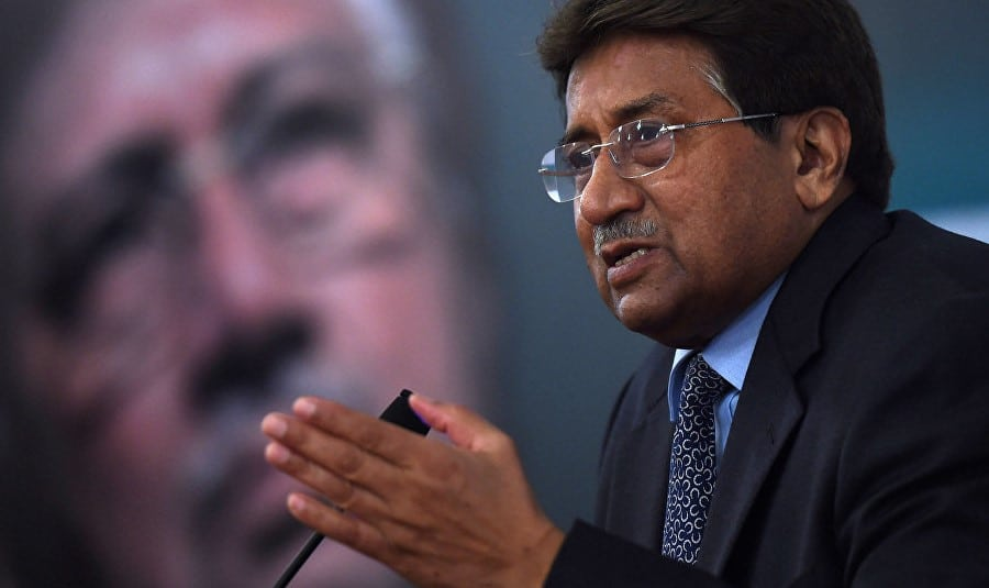 Pervez Musharraf sentenced to death in contempt of court case