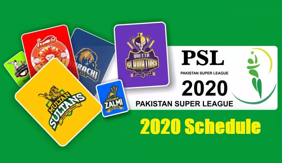 Pakistan Super League 2020 Schedule