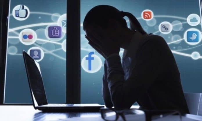 social media cause anxiety and depression
