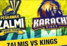 Peshawar Zalmi Vs Karachi Kings 2nd Match Prediction