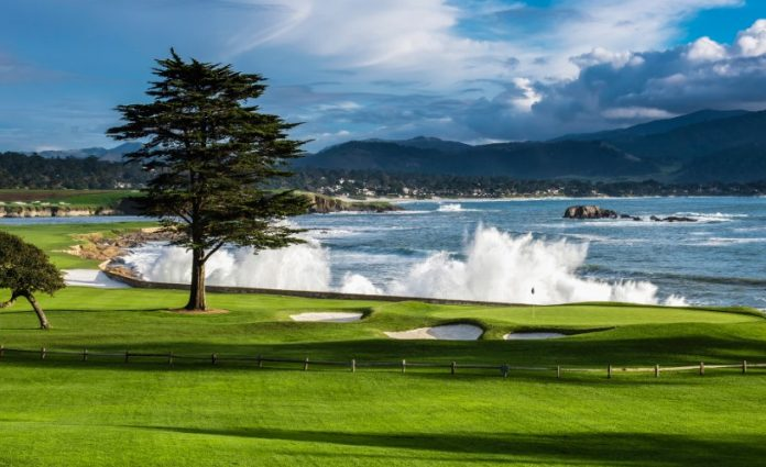 Where is Pebble Beach Golf course