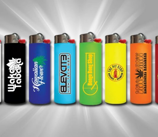 custom BIC Lighters