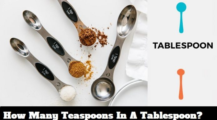 How Many Teaspoons In A Tablespoon?