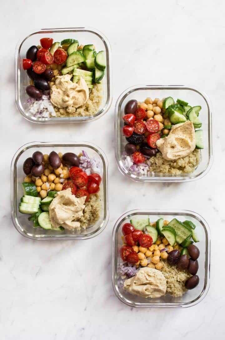 Mediterranean Meal Prep Bowls