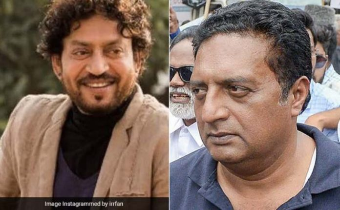 Prakash Raj's reaction on Irrfan Khan's death