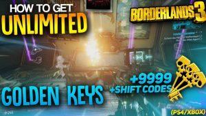 borderlands 3 golden keys