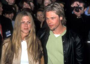 Brad Pitt and Jennifer Aniston 3